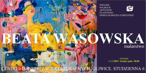 zaproszenie na wernisaż /autor AzK.19