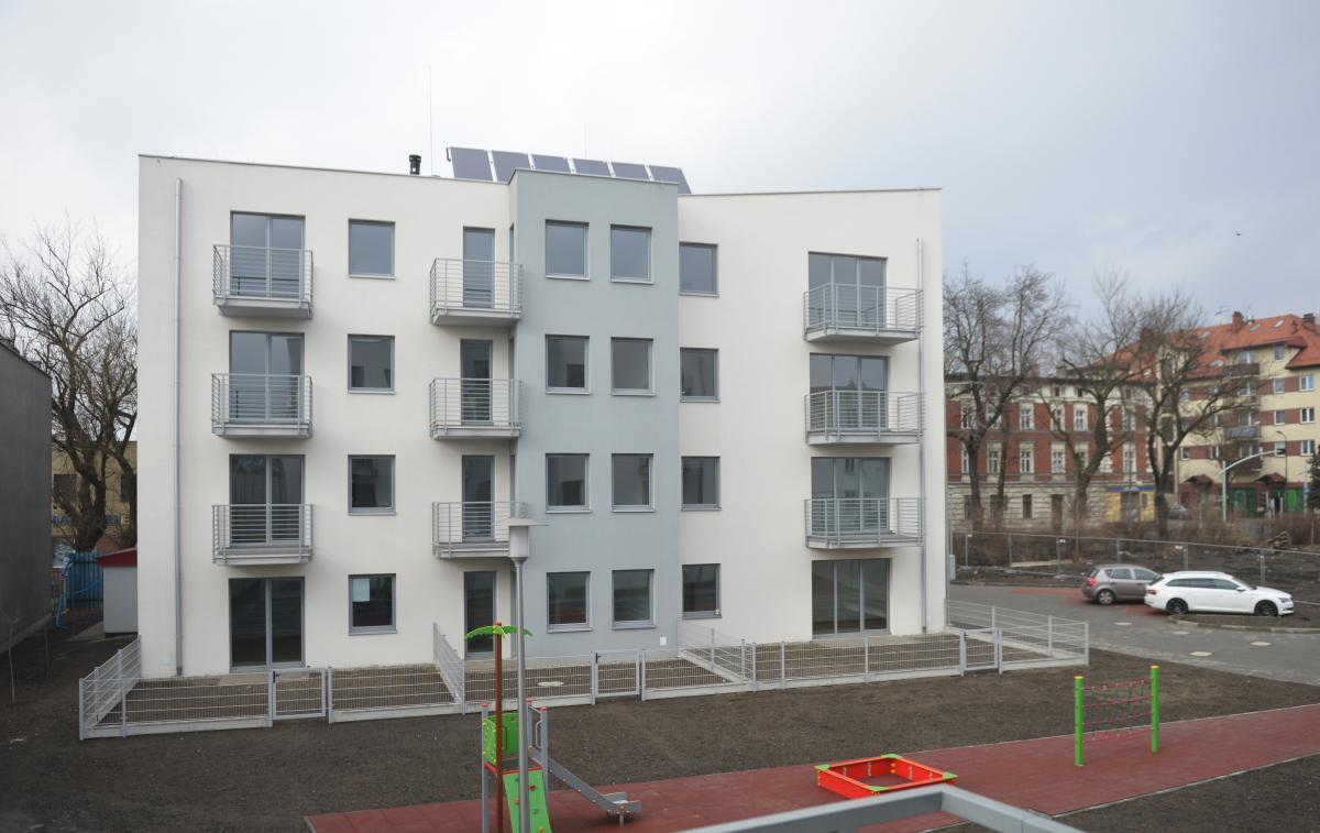 budynek przy Opolskiej