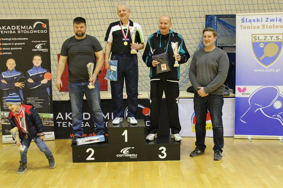Zwycięzcy na podium VI Grand Prix