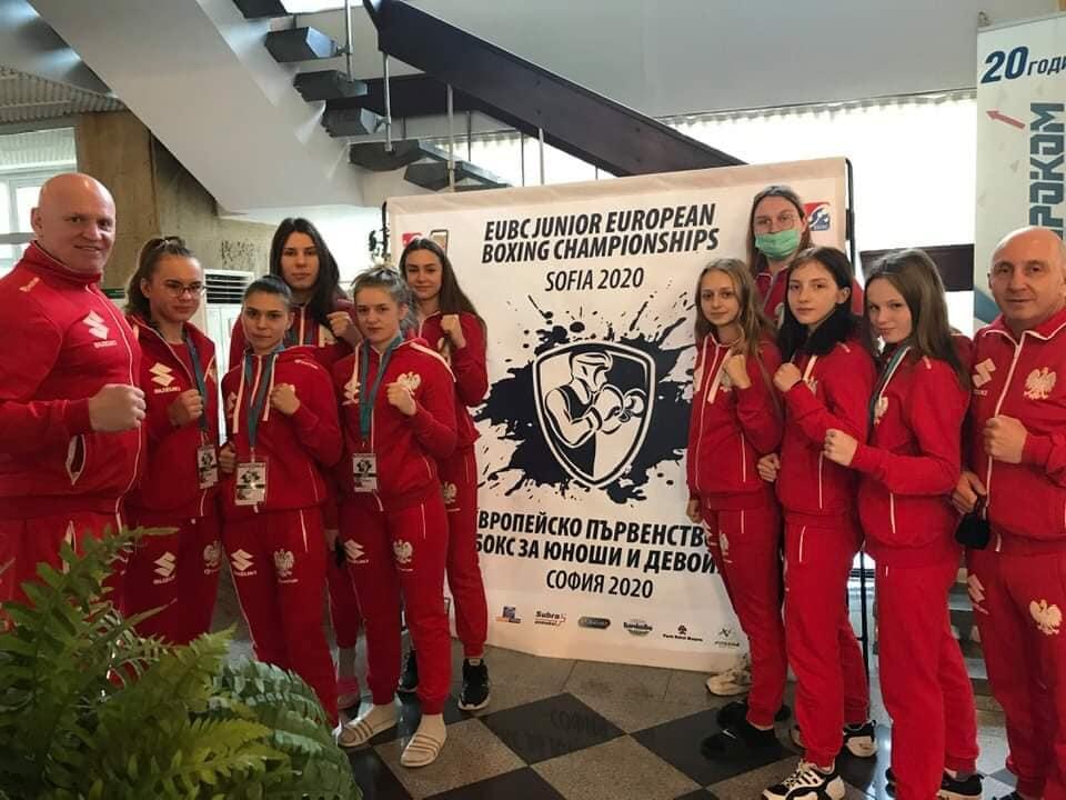 Reprezentacja Polski w boksie na Mistrzostwach Europy 2020 w Sofii
