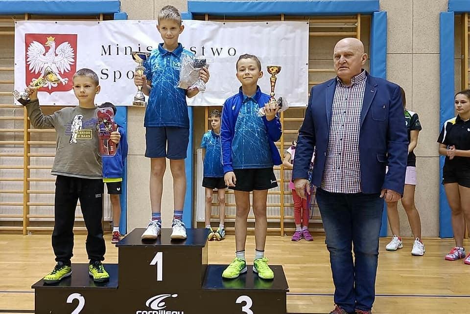 Najmłodsi zwycięzcy na podium