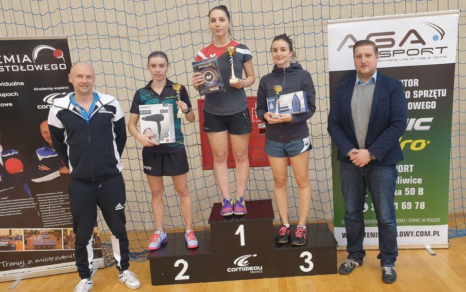 Zwycięzcy na podium Mistrzostw Gliwic 2020