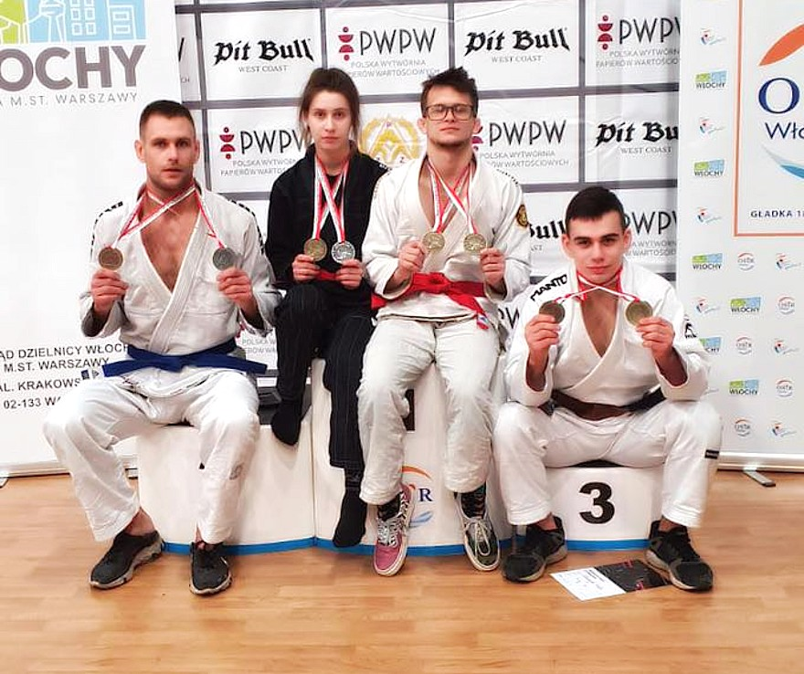 Od lewej: P. Bańczyk, A. Stypułkowska, W. Gryz, P. Dudziński