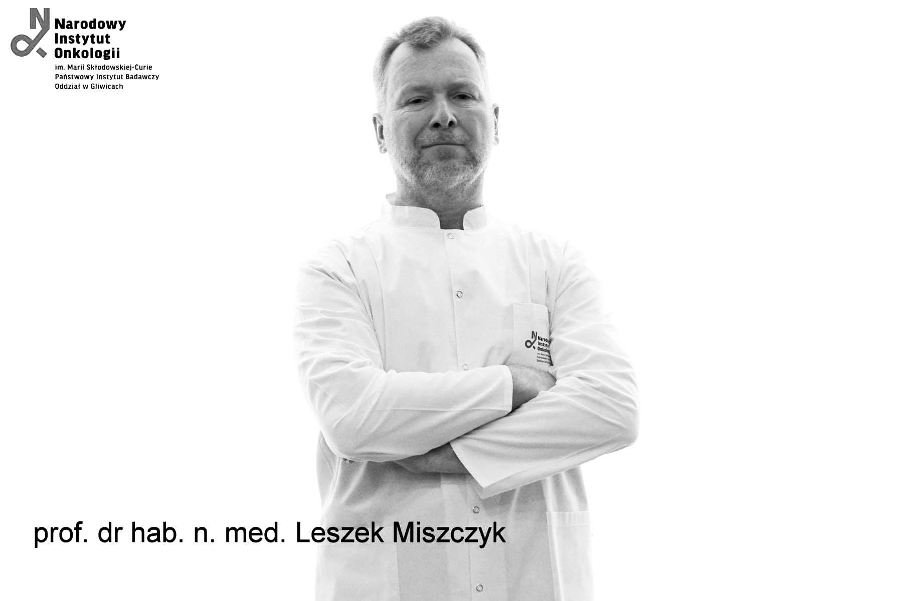 Prof. Leszek Miszczyk
