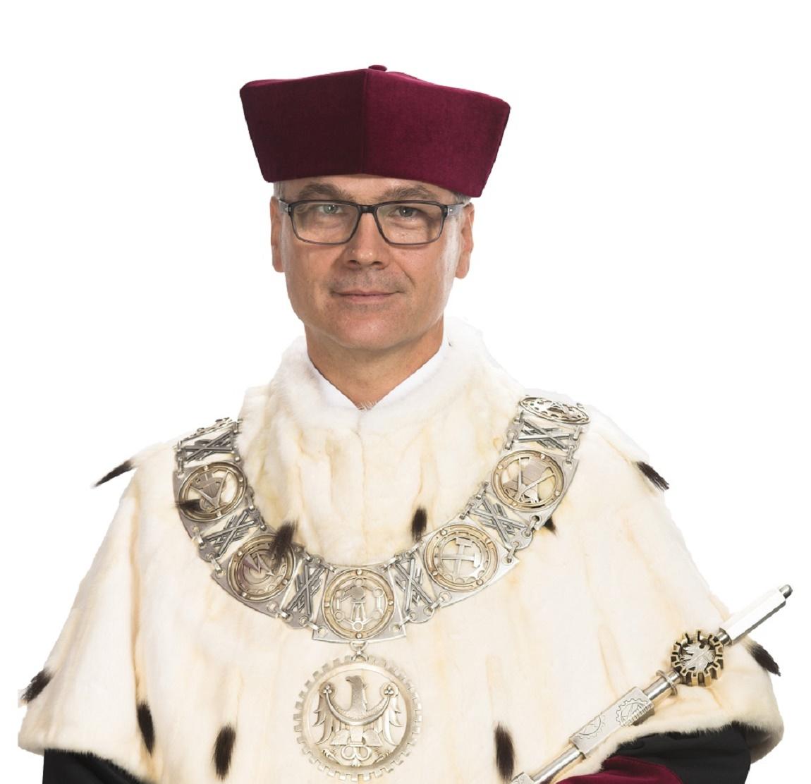 rektor Politechniki Śląskiej Arkadiusz Mężyk