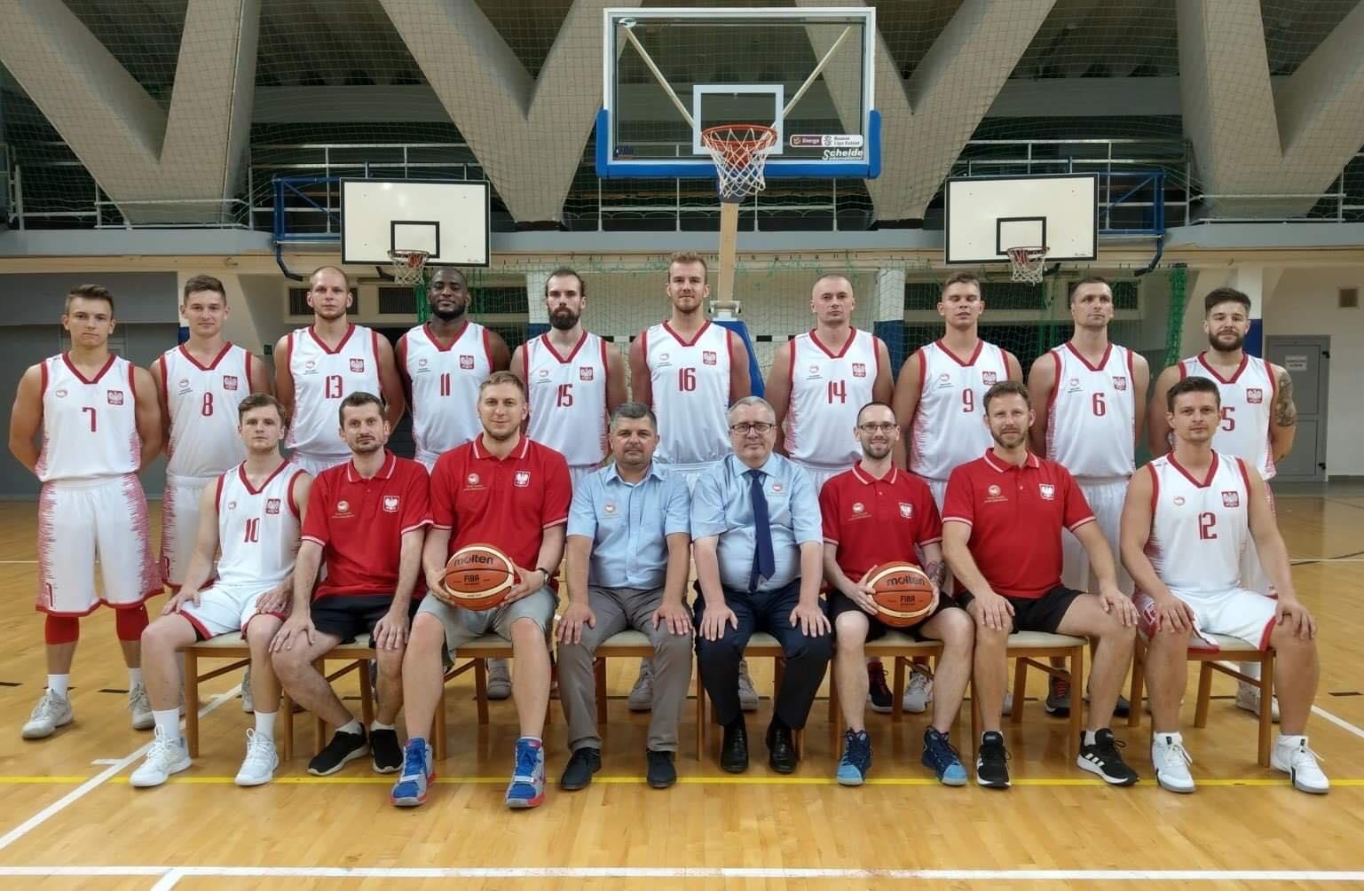 kadra Polski gluchych w koszykówce