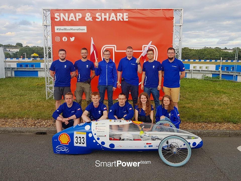 bolid elektryczny, drużyna Smart Power