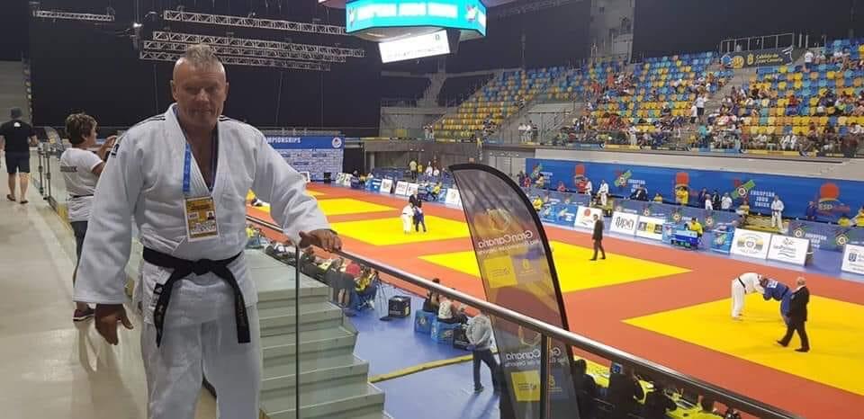 Jacek Gemza na Mistrzostwach Weteranów w Judo