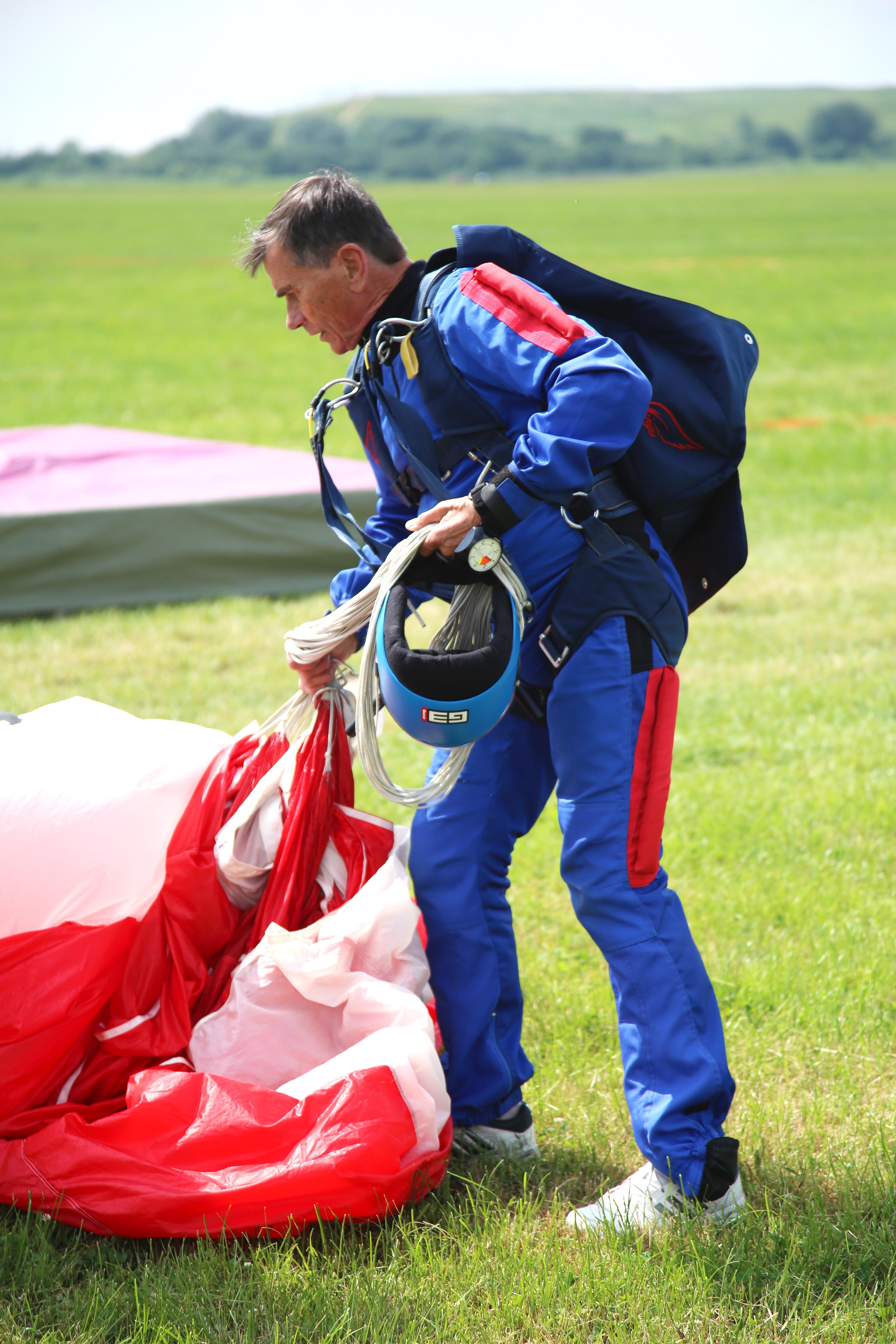 spadochroniarz, skoki