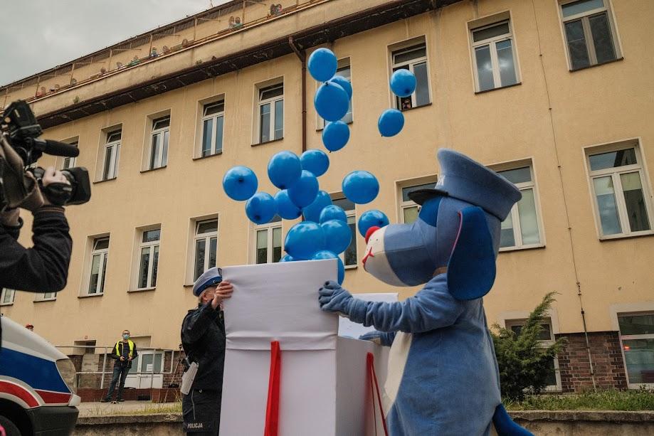 Sznupek z balonami