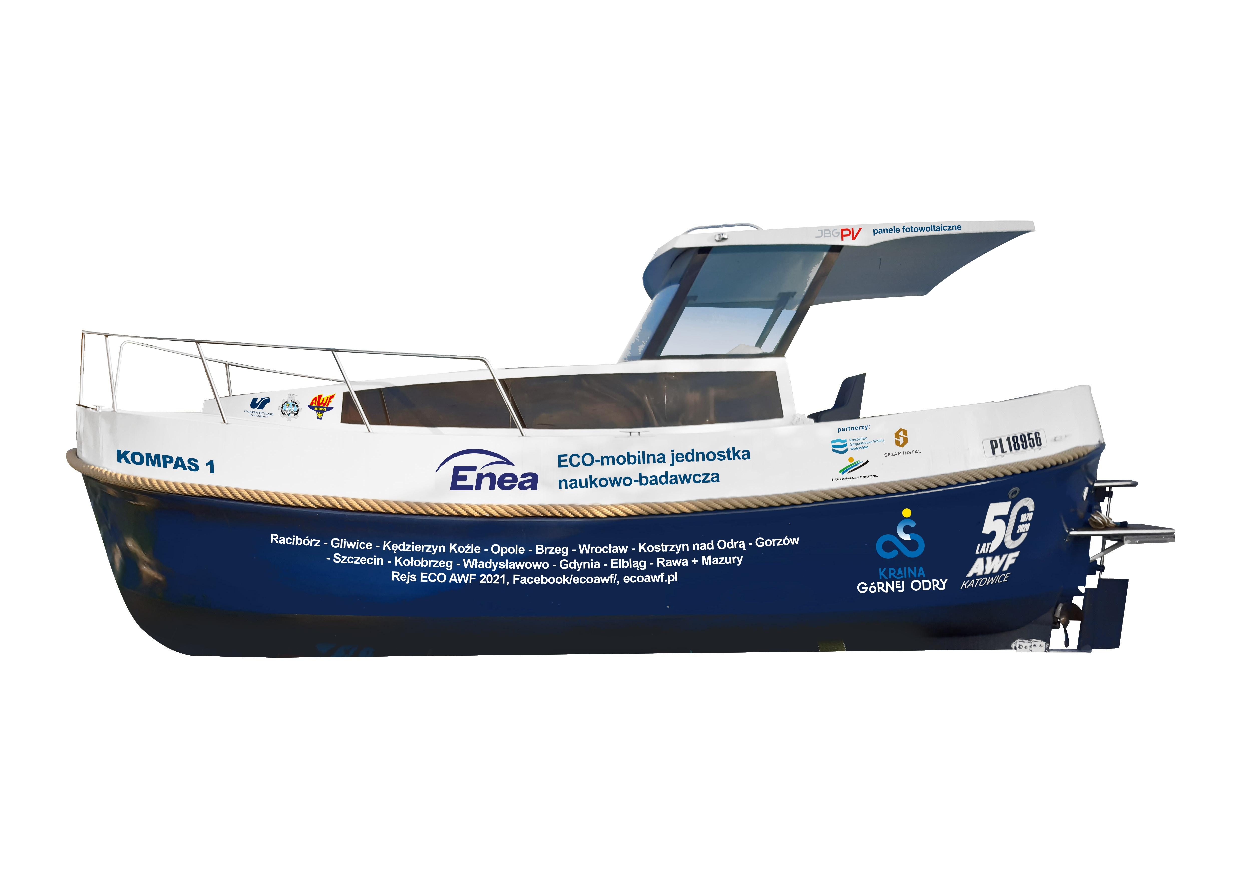 wizualizacja łodzi