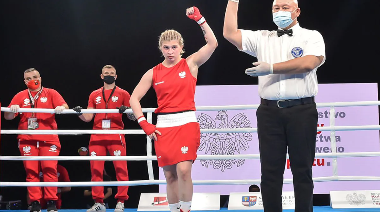 Alexas Kubicka na ringu