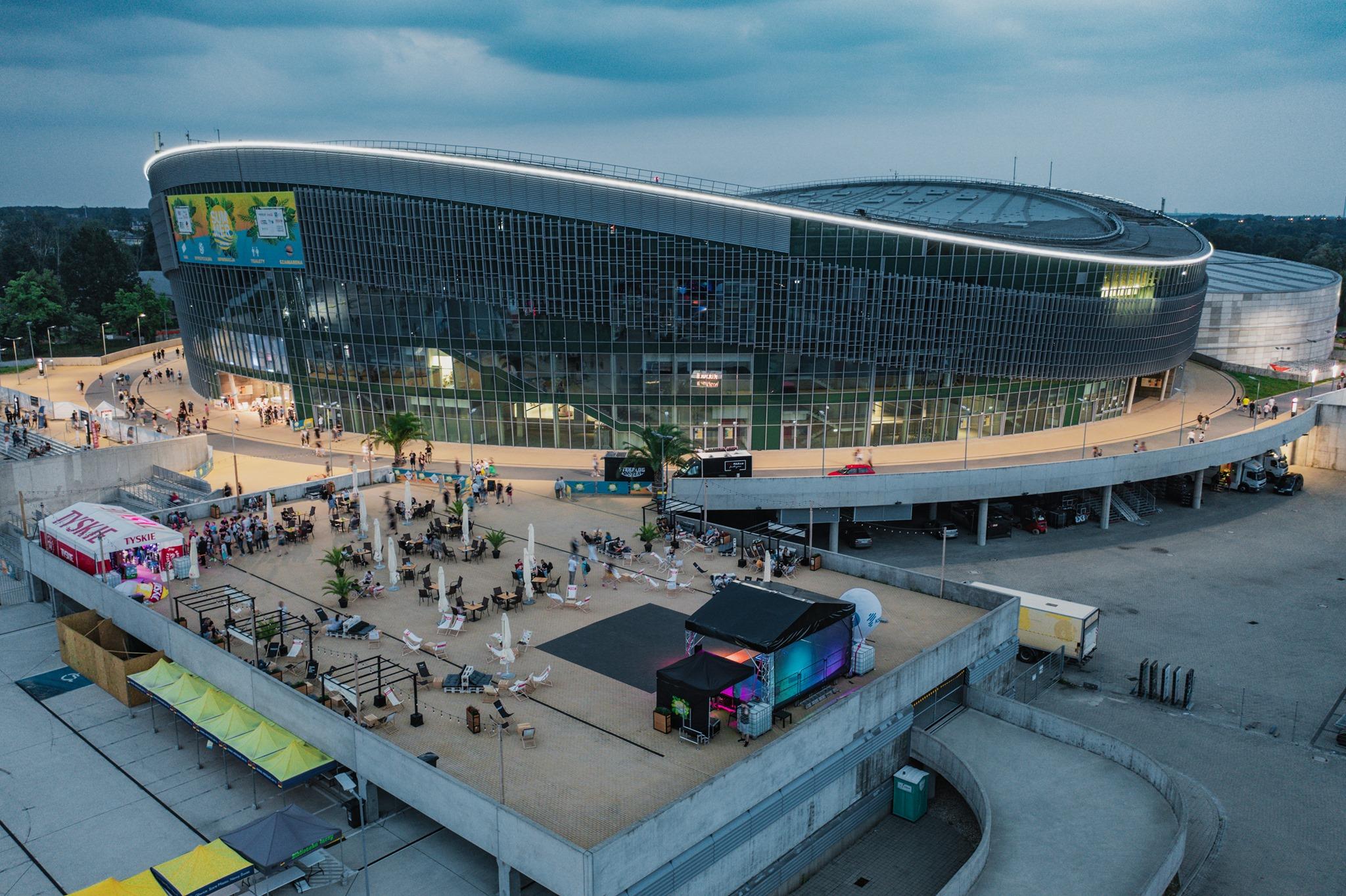 Arena Gliwice z lotu ptaka
