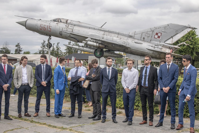 studenci Politechniki Śląskiej, którzy wybrali specjalności lotnicze