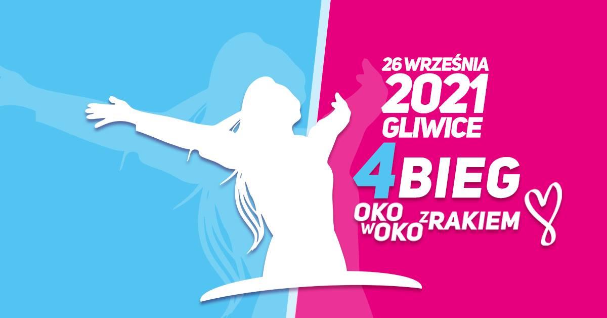 nazwa i data imprezy na niebiesko-różowym bannerze