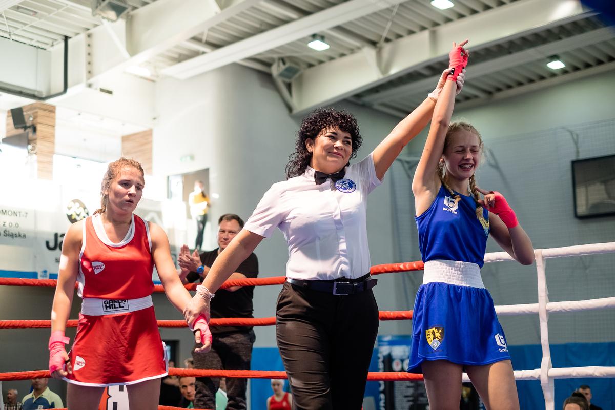 bokserki na ringu