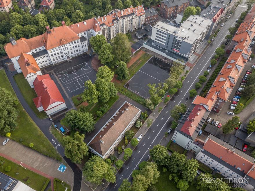 kompleks szkolny I LO w Gliwicach