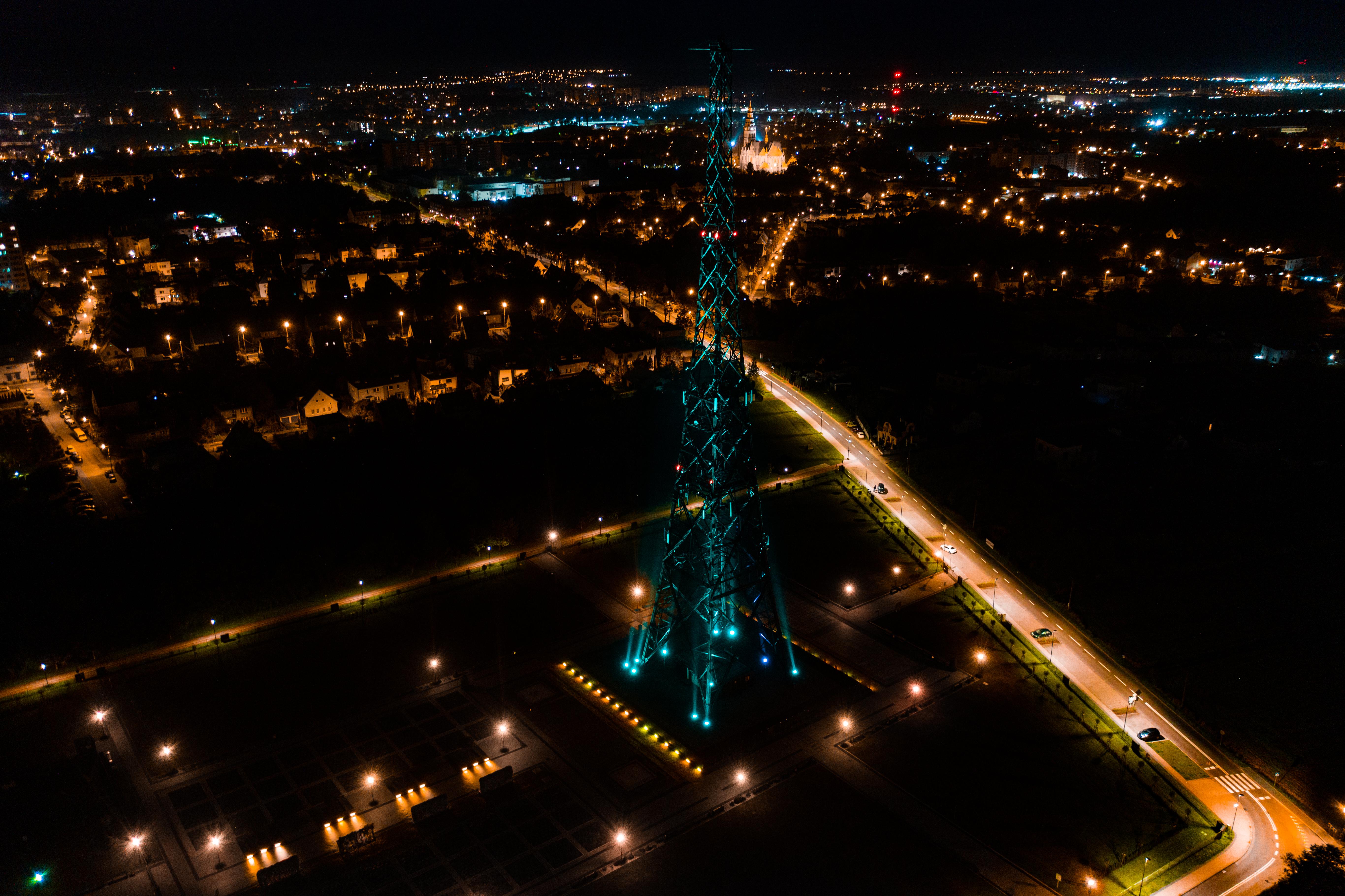 podświetlona na zielono Radiostacja