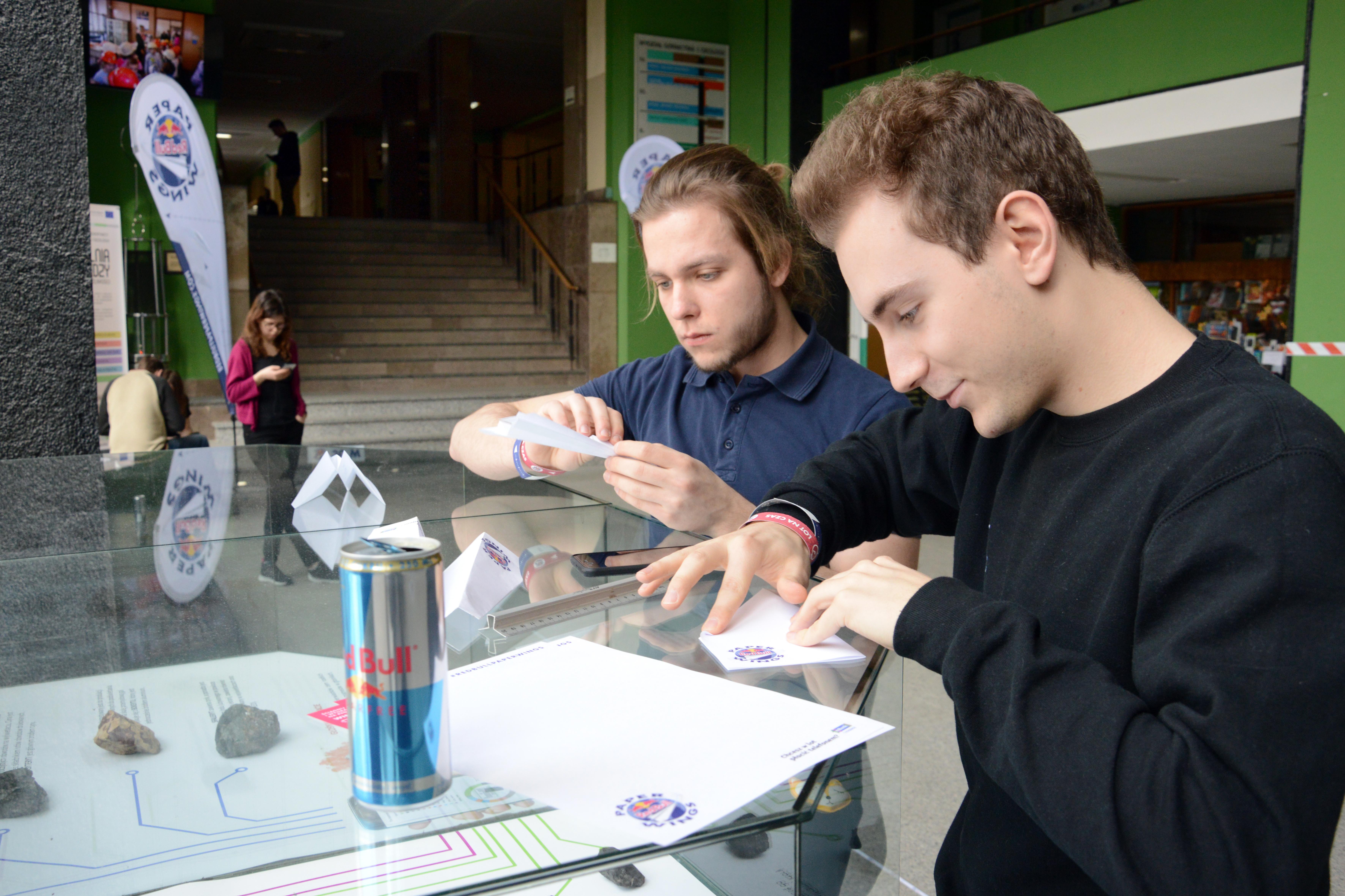 Red Bull Paper Wings na Politechnice Śląskiej