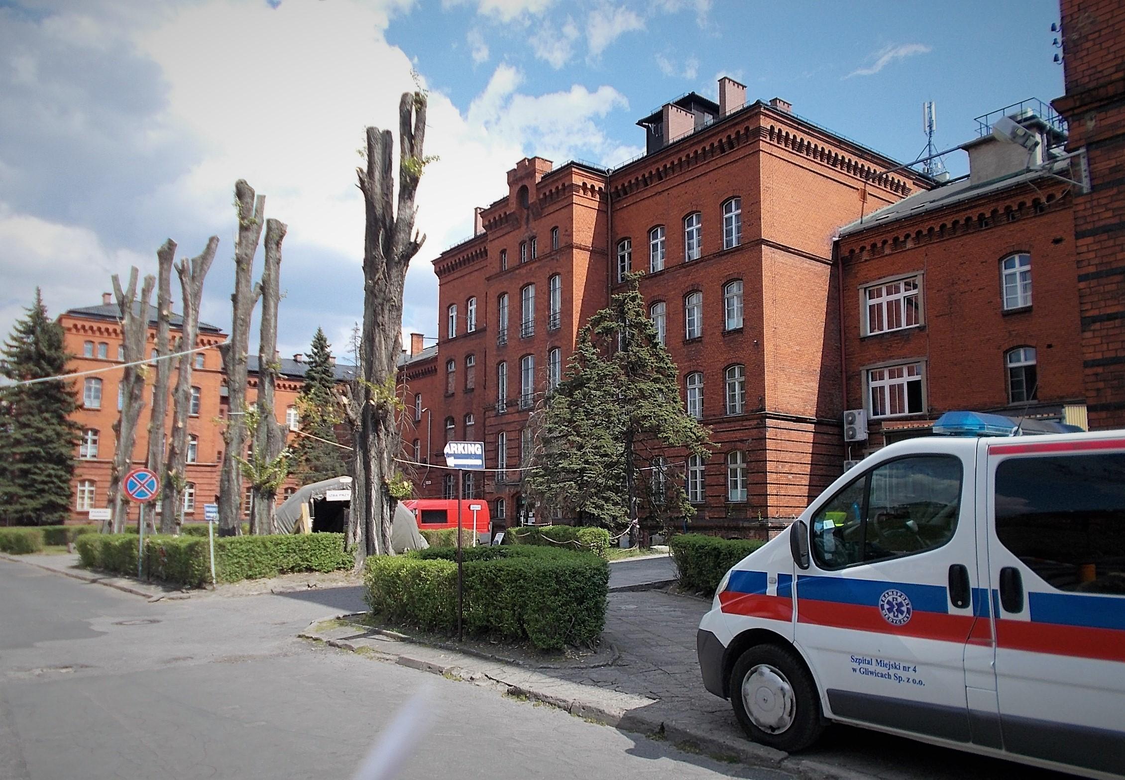 Szpital Miejski nr 4 przy ul. Zygmunta Starego