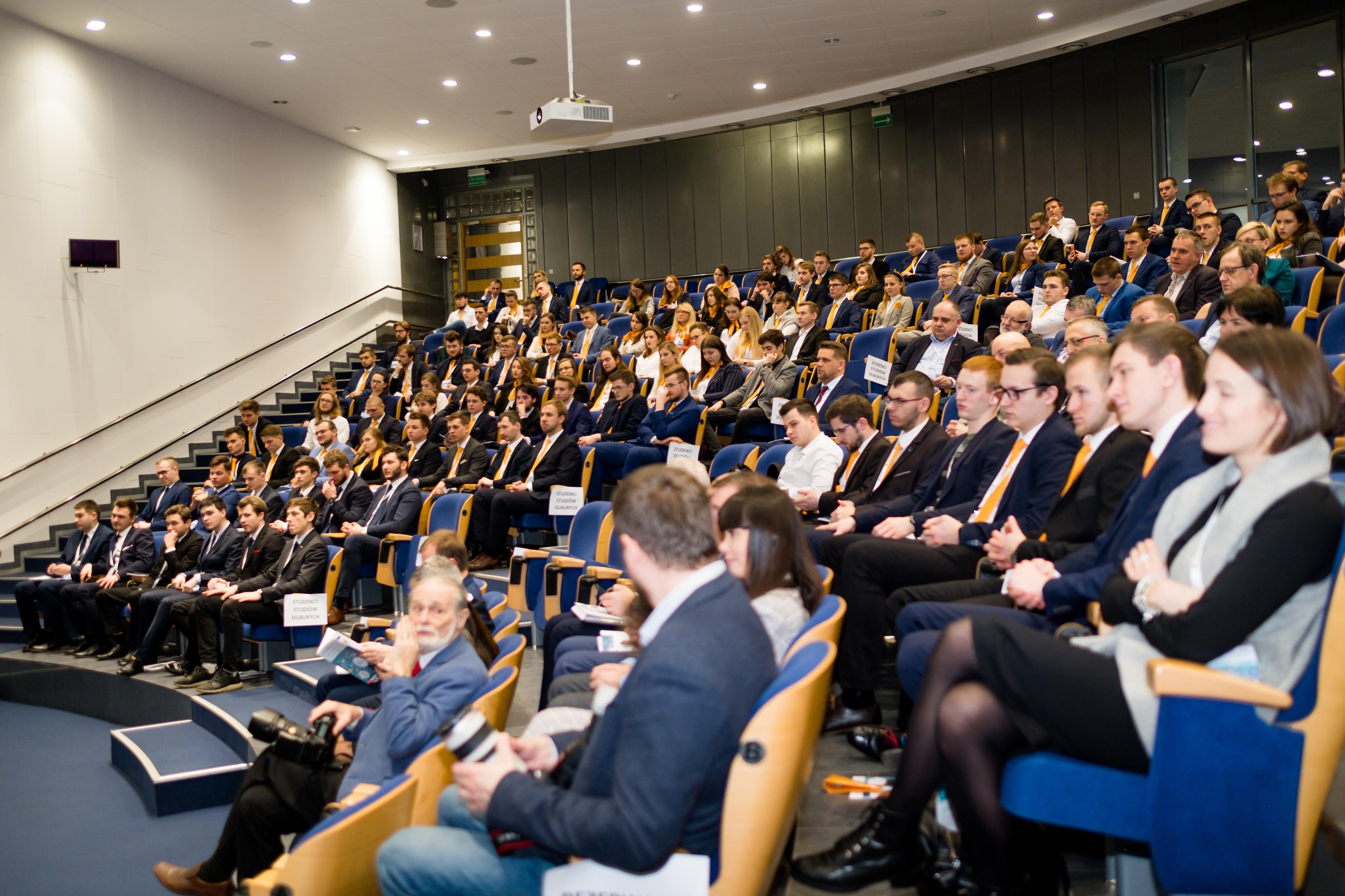 Konferencja Edual aula studenci