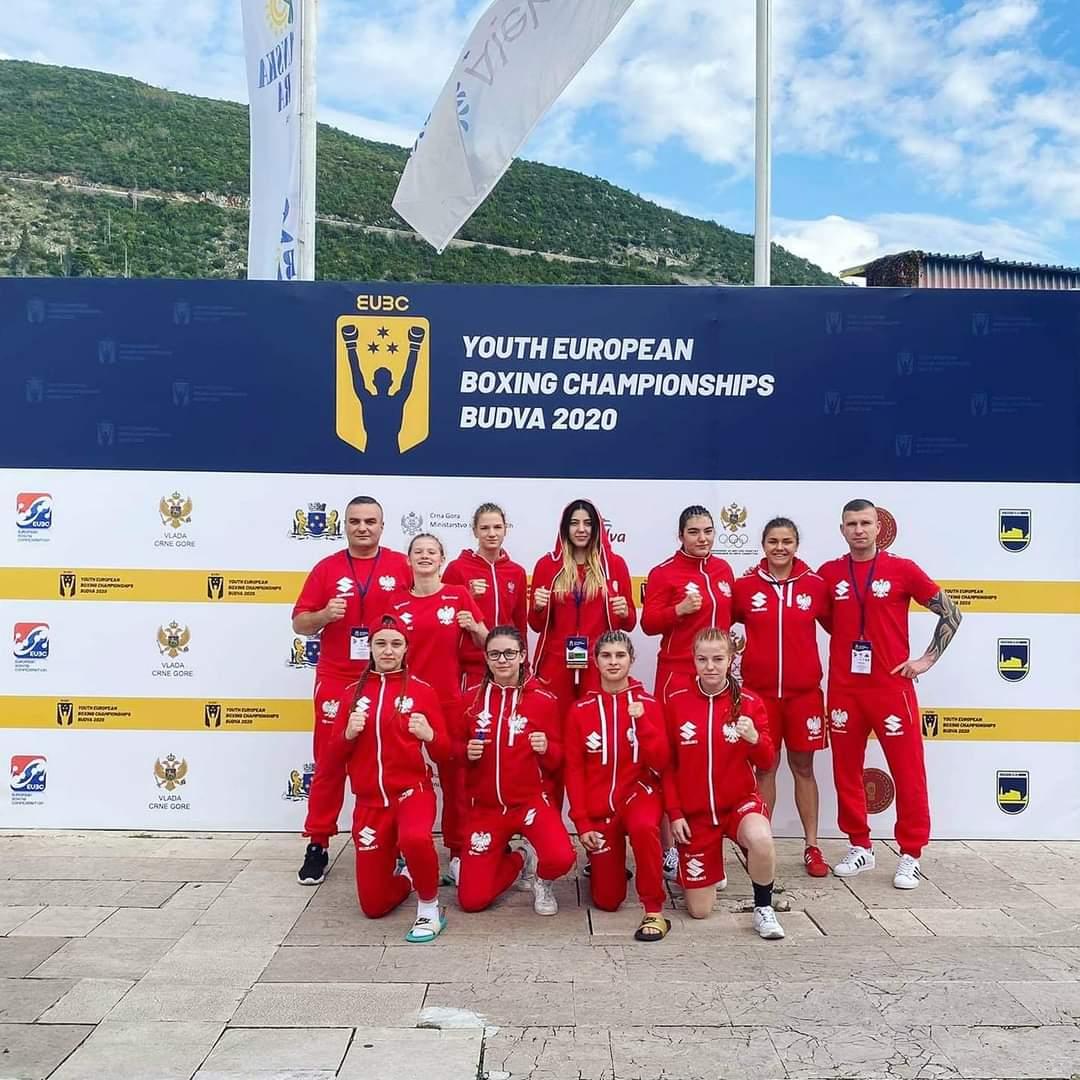 Młodzieżowa reprezentacja Polski w boksie na Mistrzostwach w Budvie