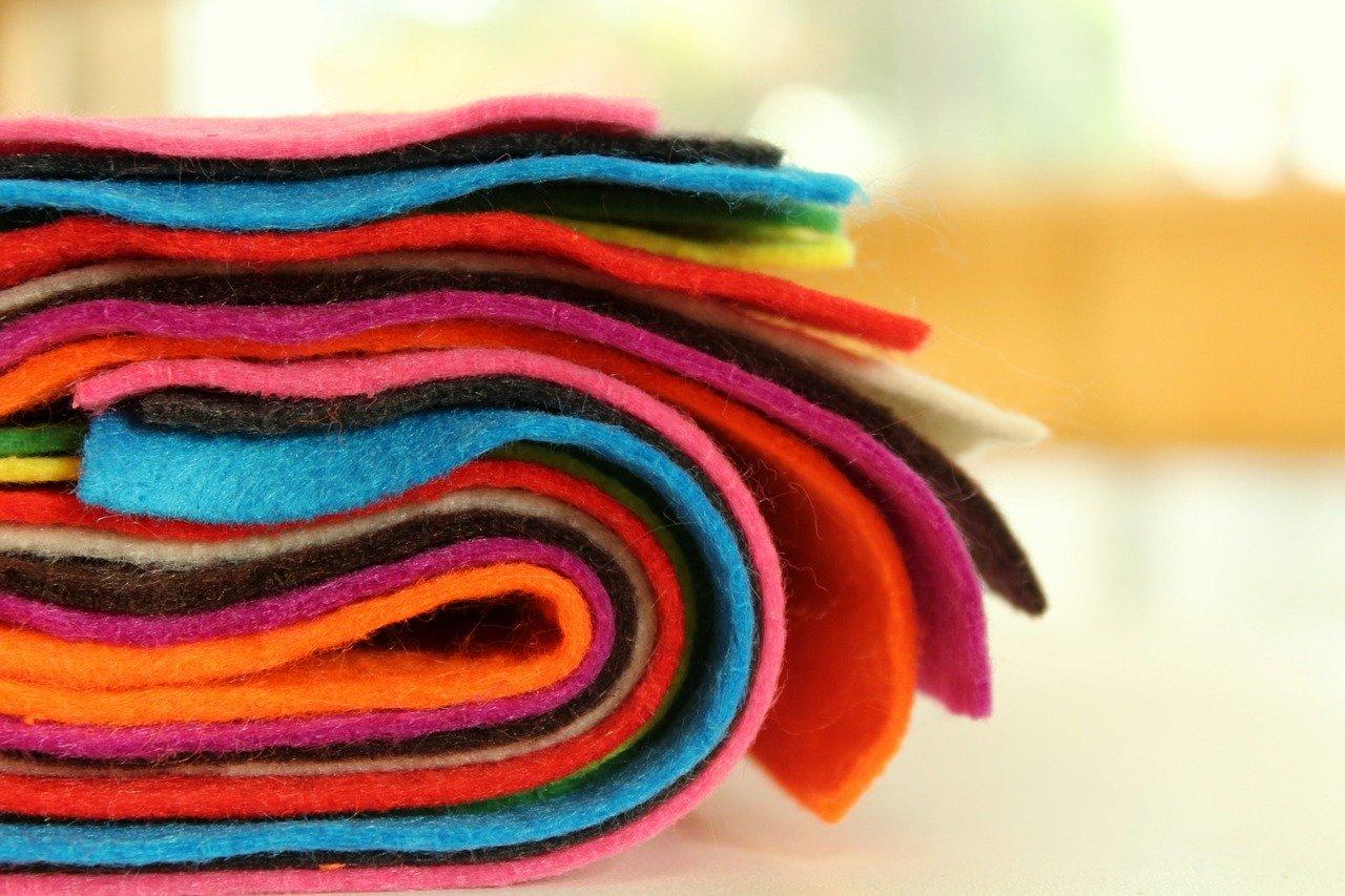 kolorowy filc