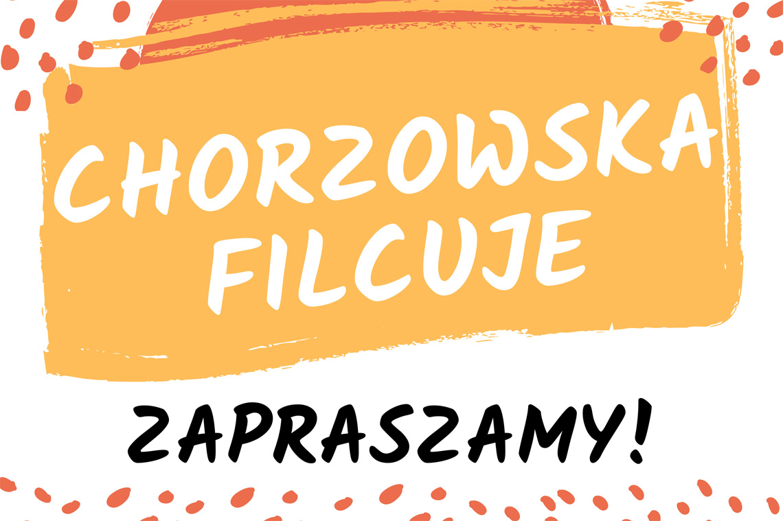 banner z nazwą Chorzowska filcuje
