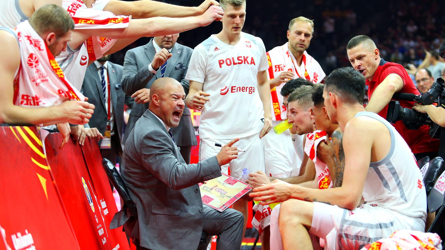 Polska kadra koszykówki