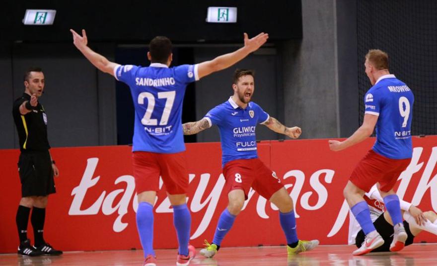 Pozytywne emocje futsalistów Piasta Gliwice