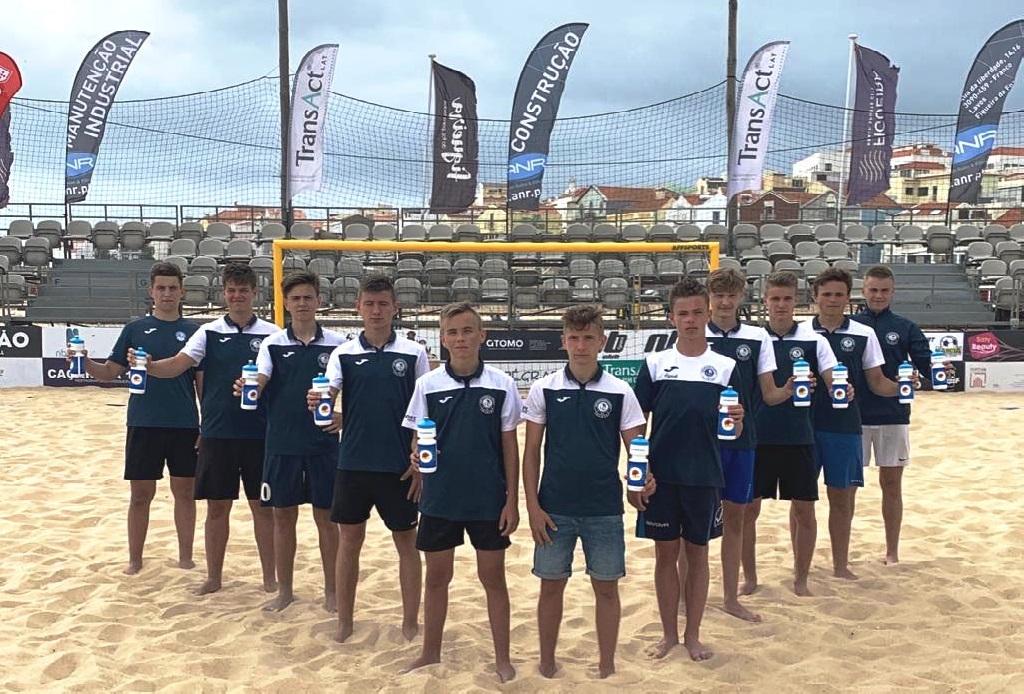 drużyna beach soccer