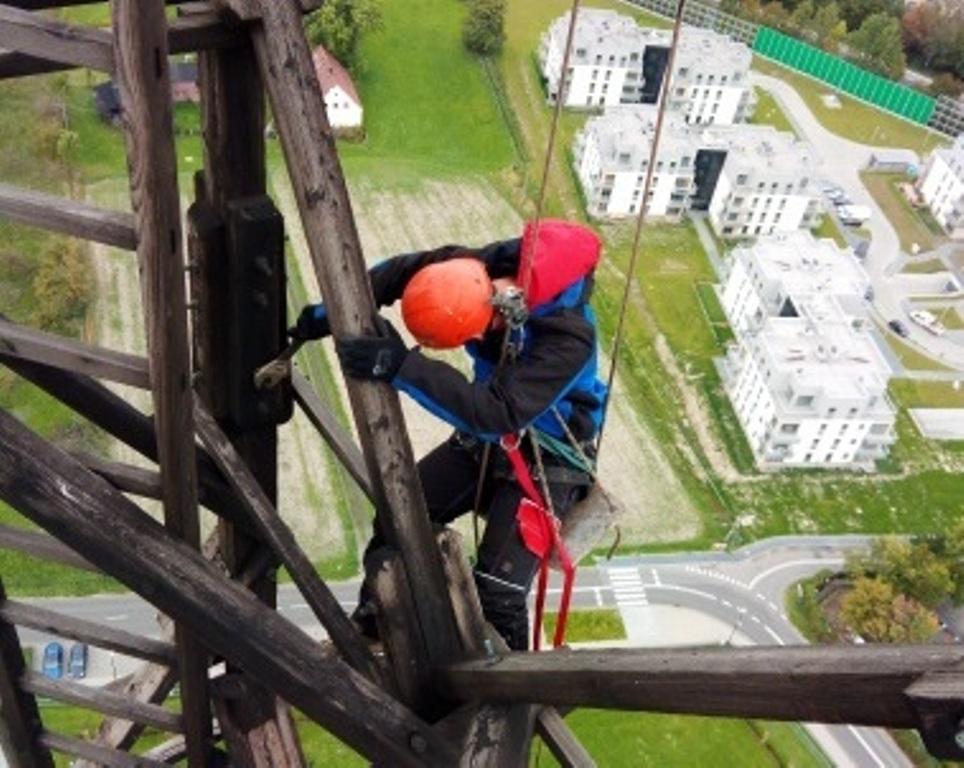 alpinista na Radiostacji