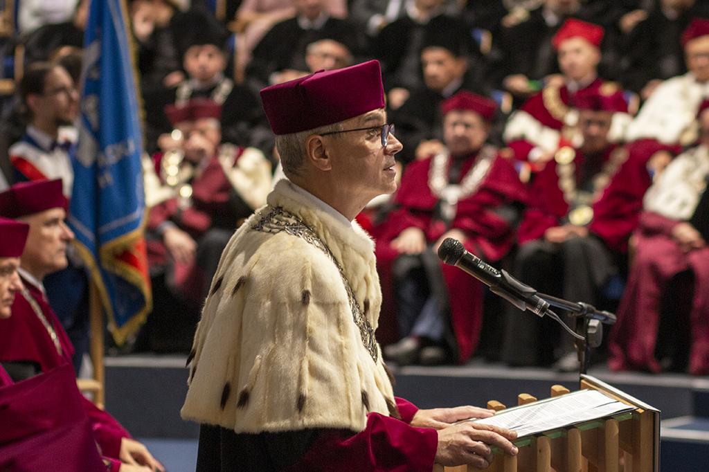 inauguracja roku akademickiego rektor