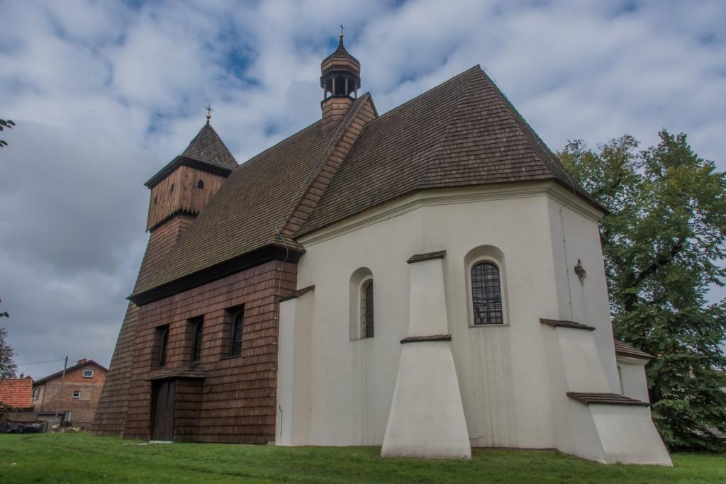 kościół pw. św. Jerzego w Ostropie