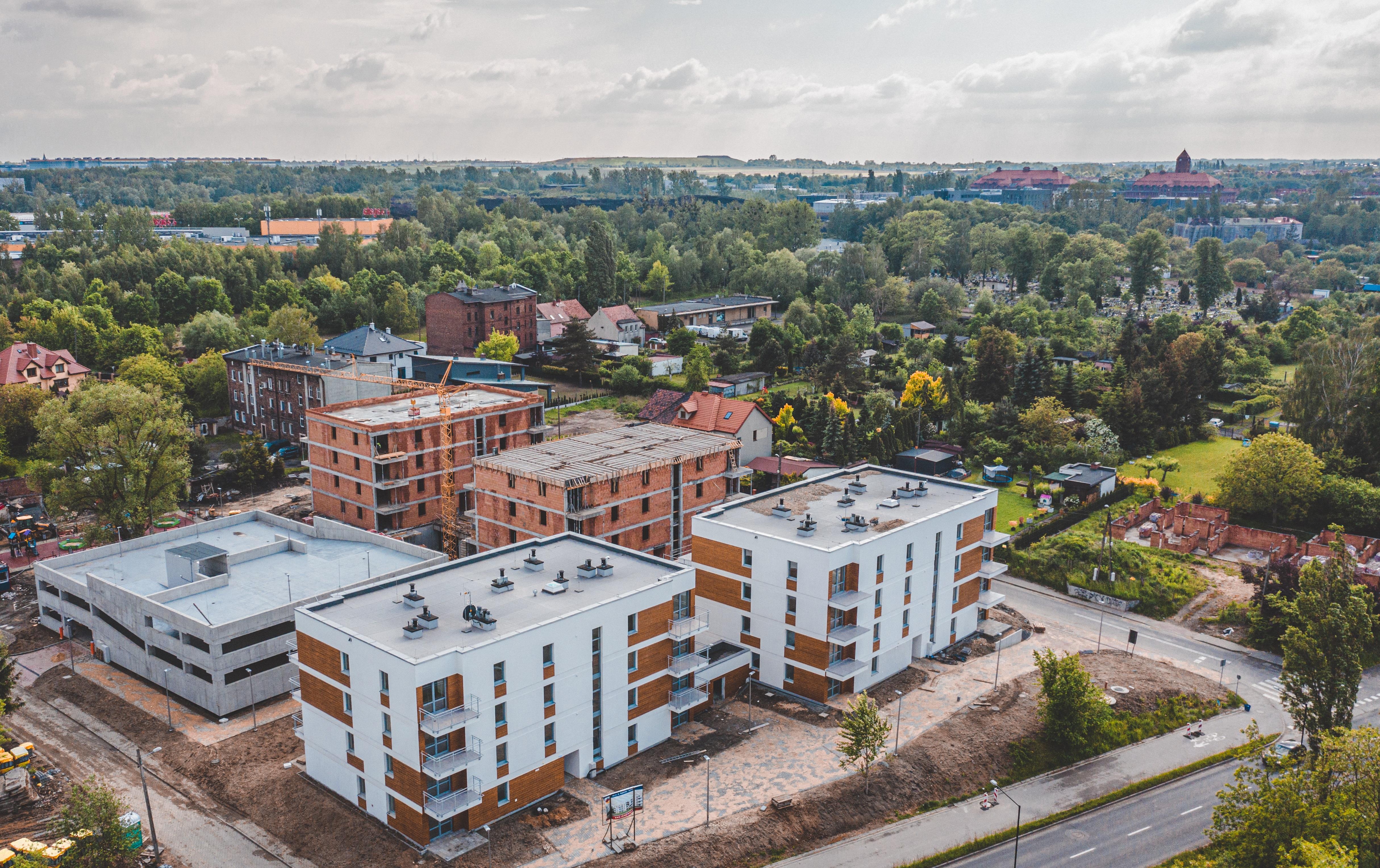 budynki przy ul. Kujawskiej