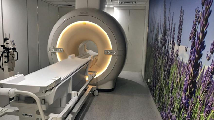 rezonans w lawendowej pracowni Szpitala Miejskiego w Gliwicach