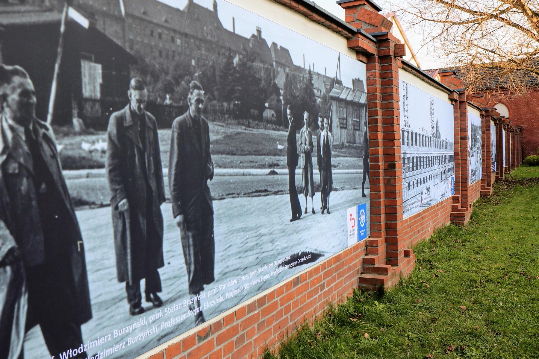 murale na Politechnice Śląskiej