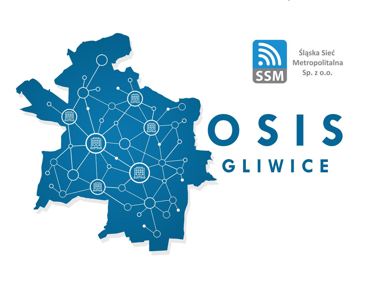 sieć światłowodów Śląskiej Sieci Metropolitalnej