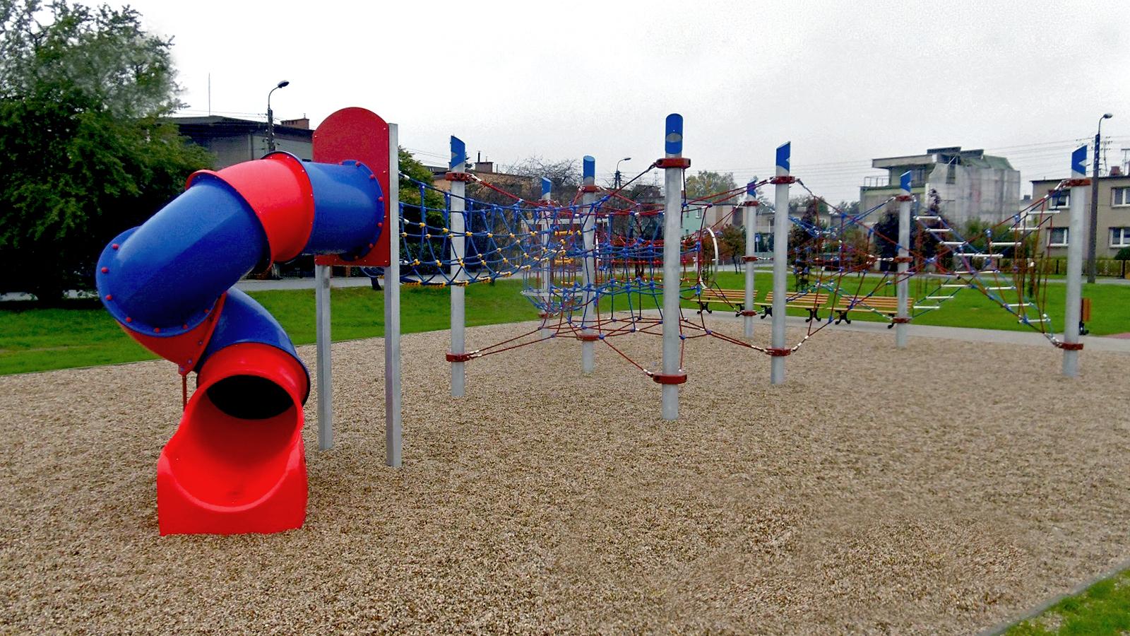 park linowy w Brzezince