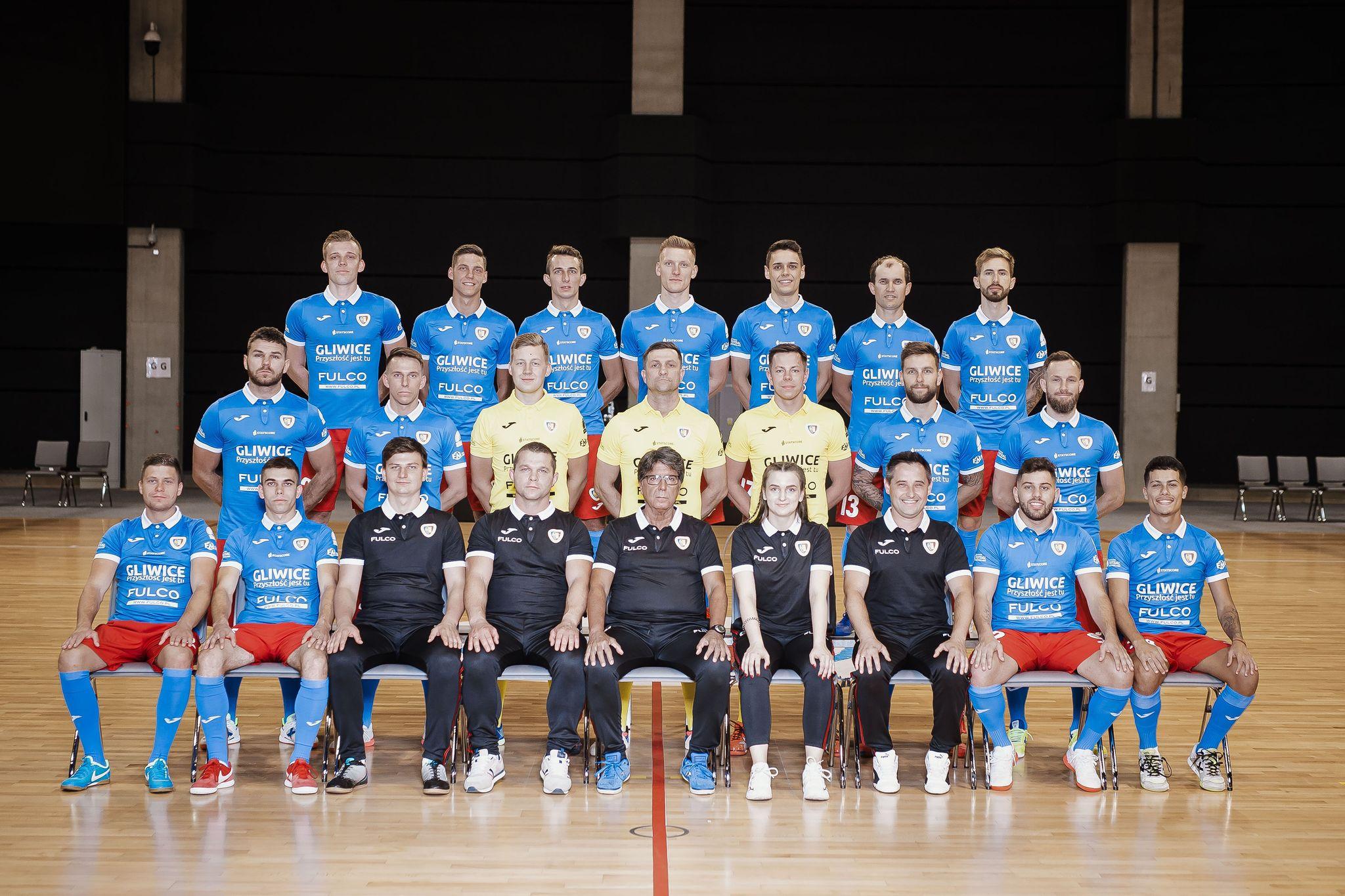 Piast Gliwice drużyna futsalu