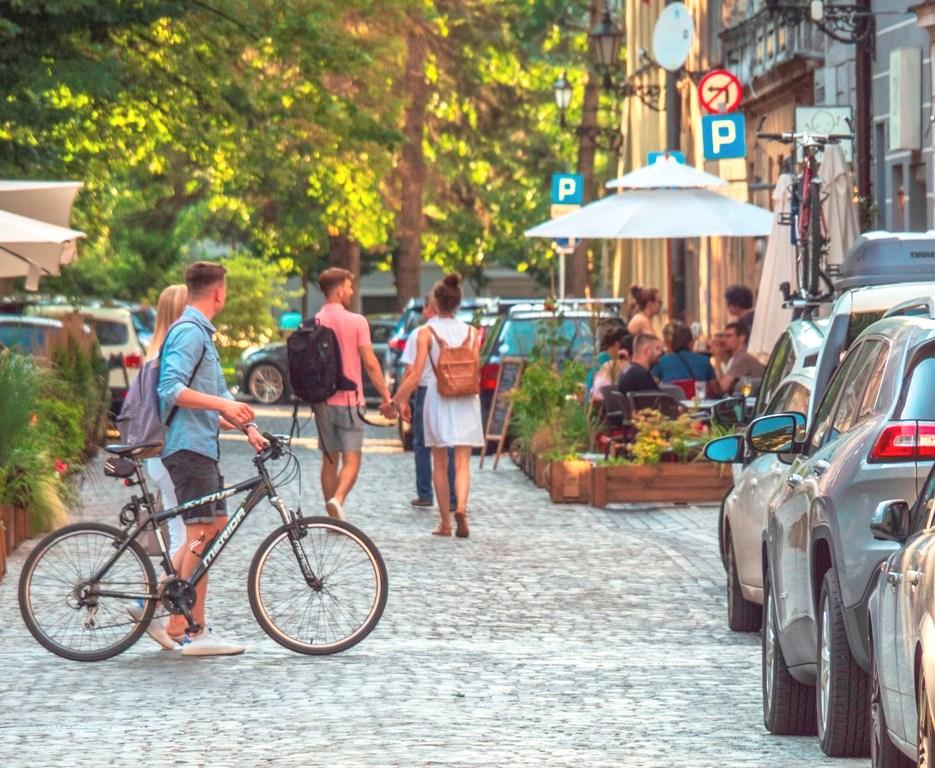 Zdjęcie uliczki Starówki
