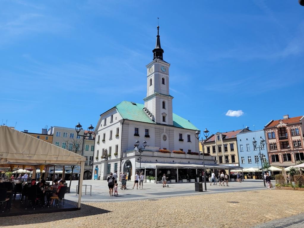 Zdjęcie gliwickiego Rynku