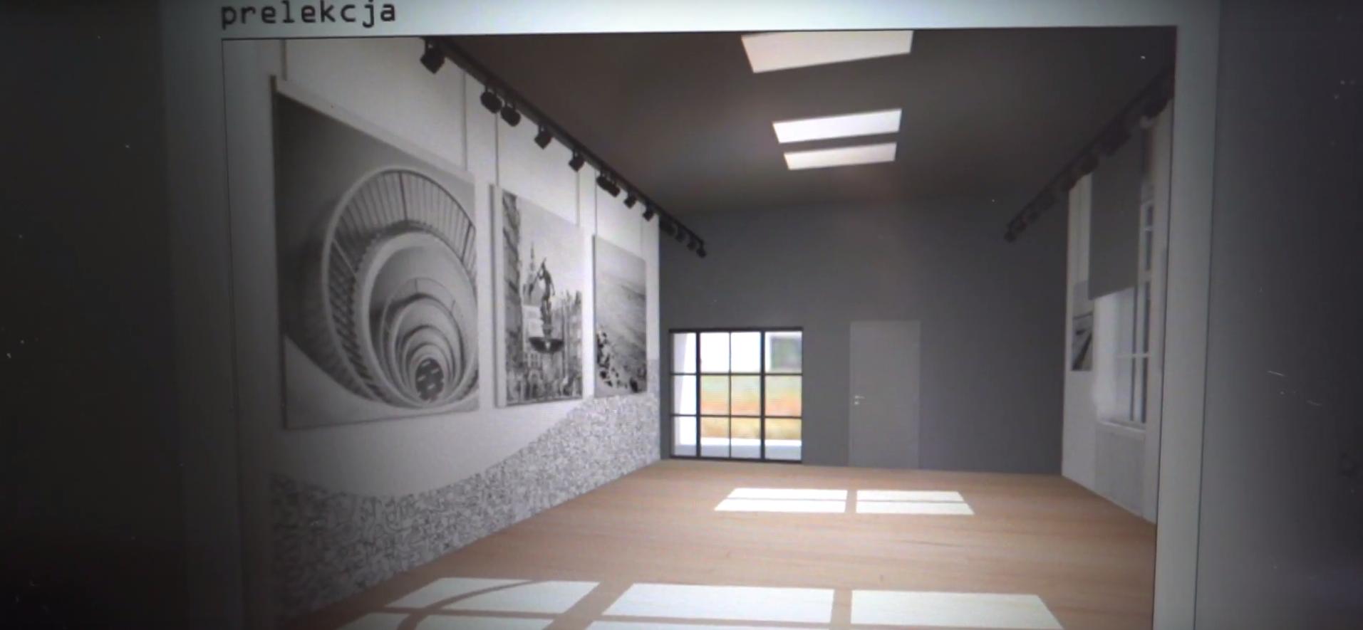 wizualizacja centrum wystawowego