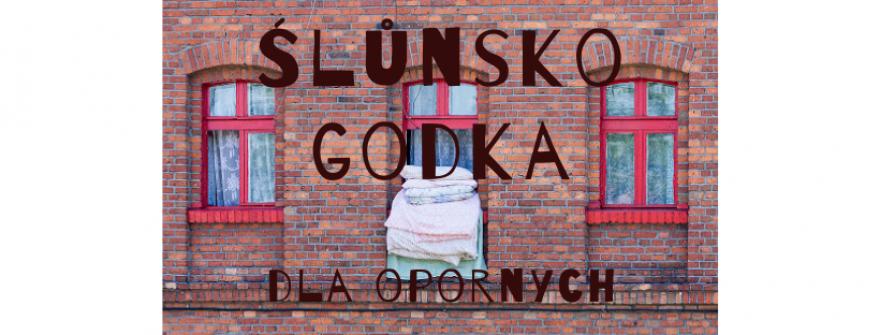 banner z ceglaną ścianą i nazwą cyklu