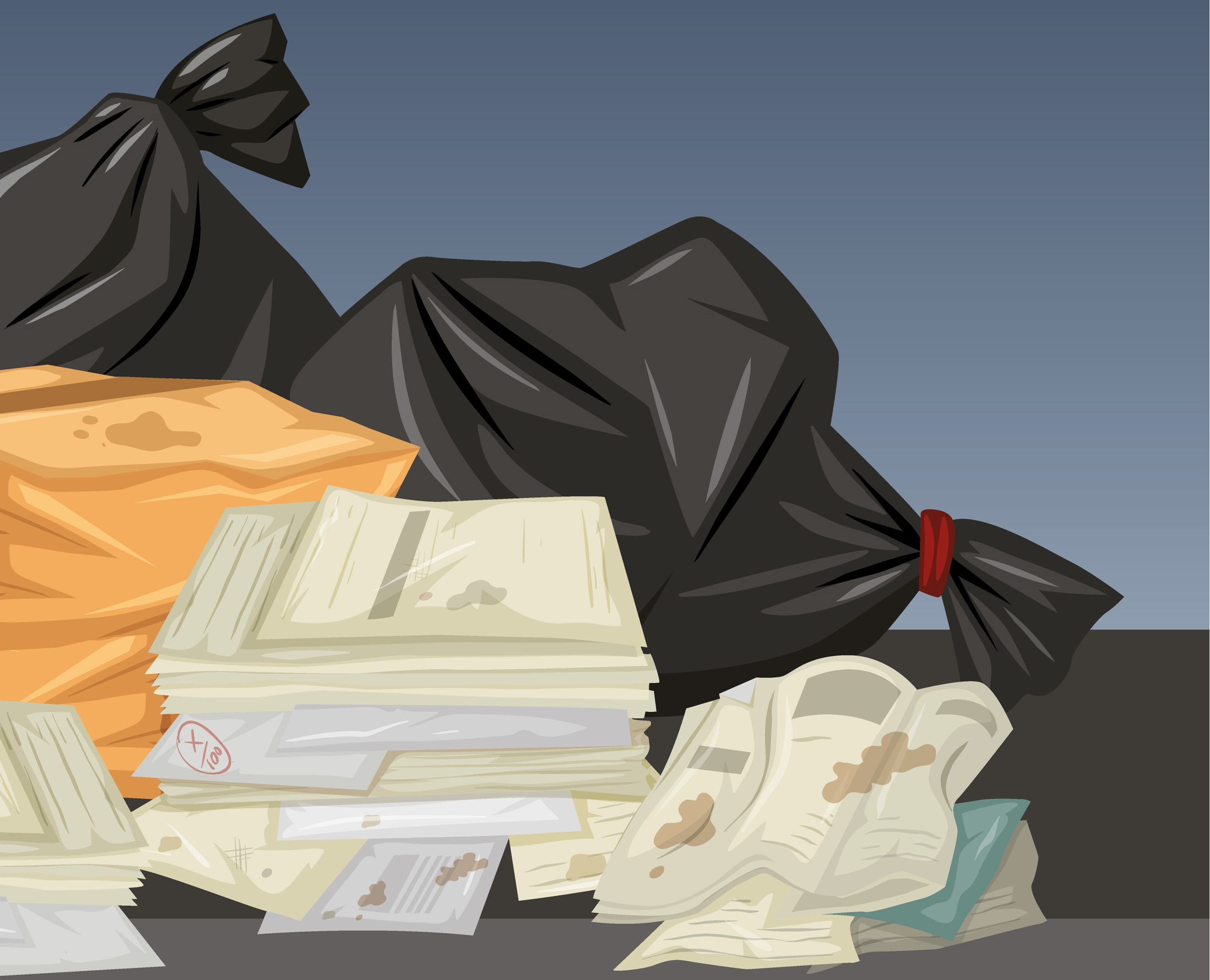 porzucone śmieci