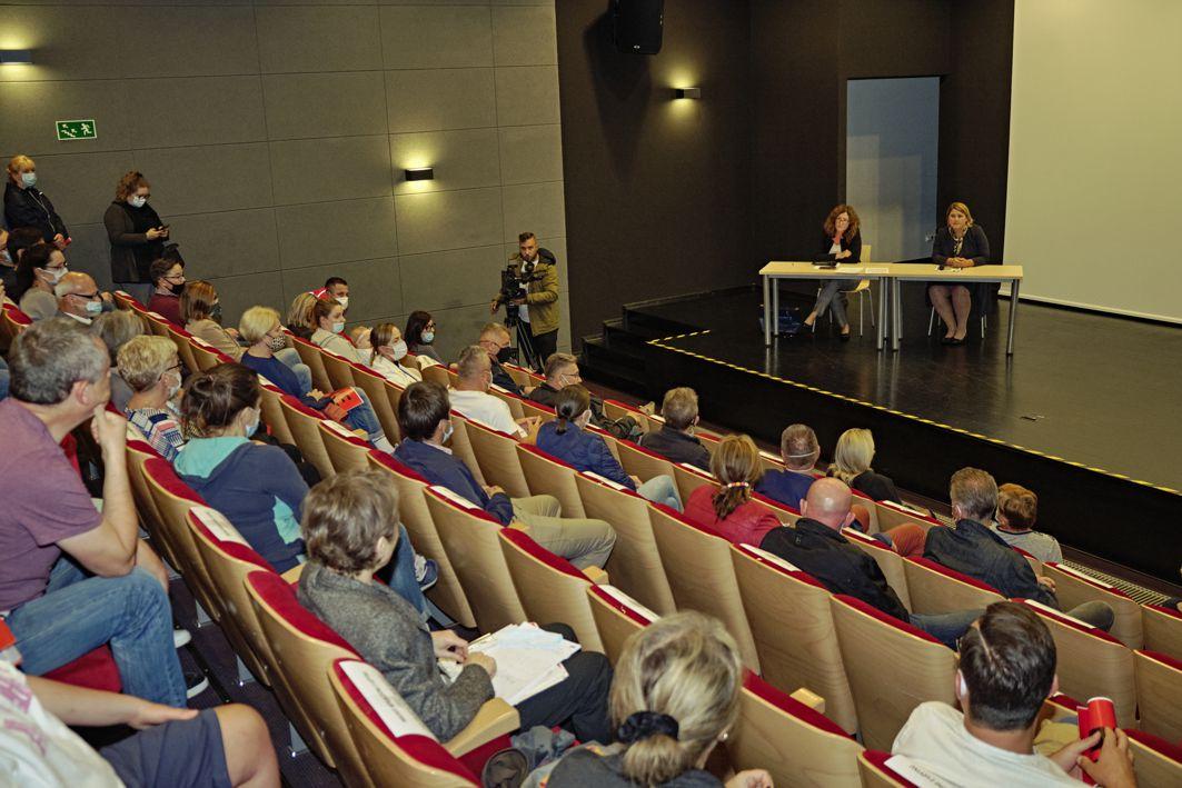spotkanie w CSK Łabędź