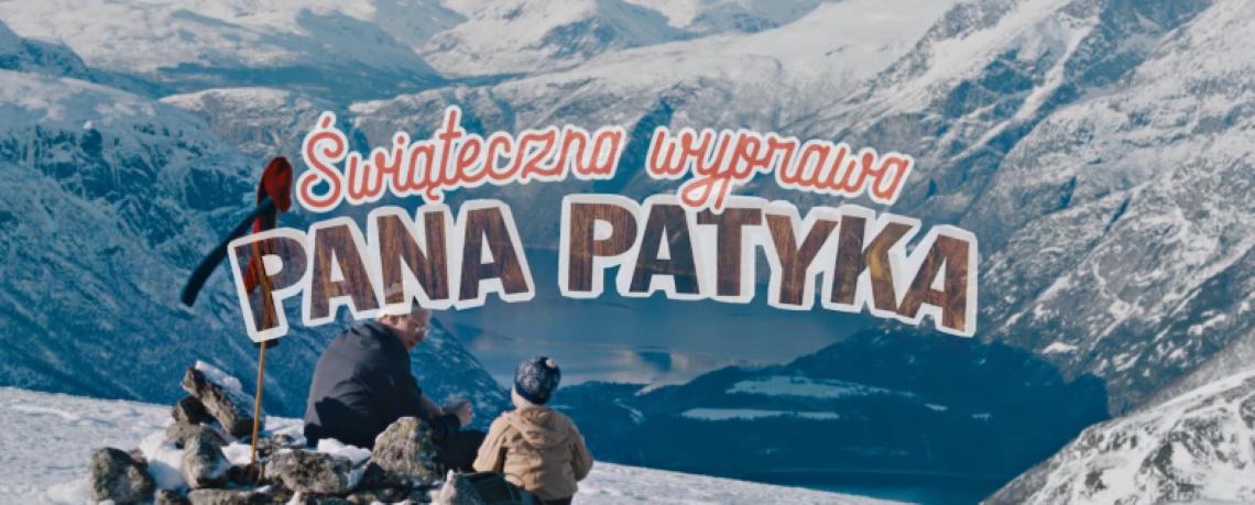 baner filmu świąteczna wyprawa Pana Patyka