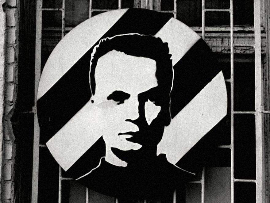 graficzna podobizna Grzegorza Ciechowskiego