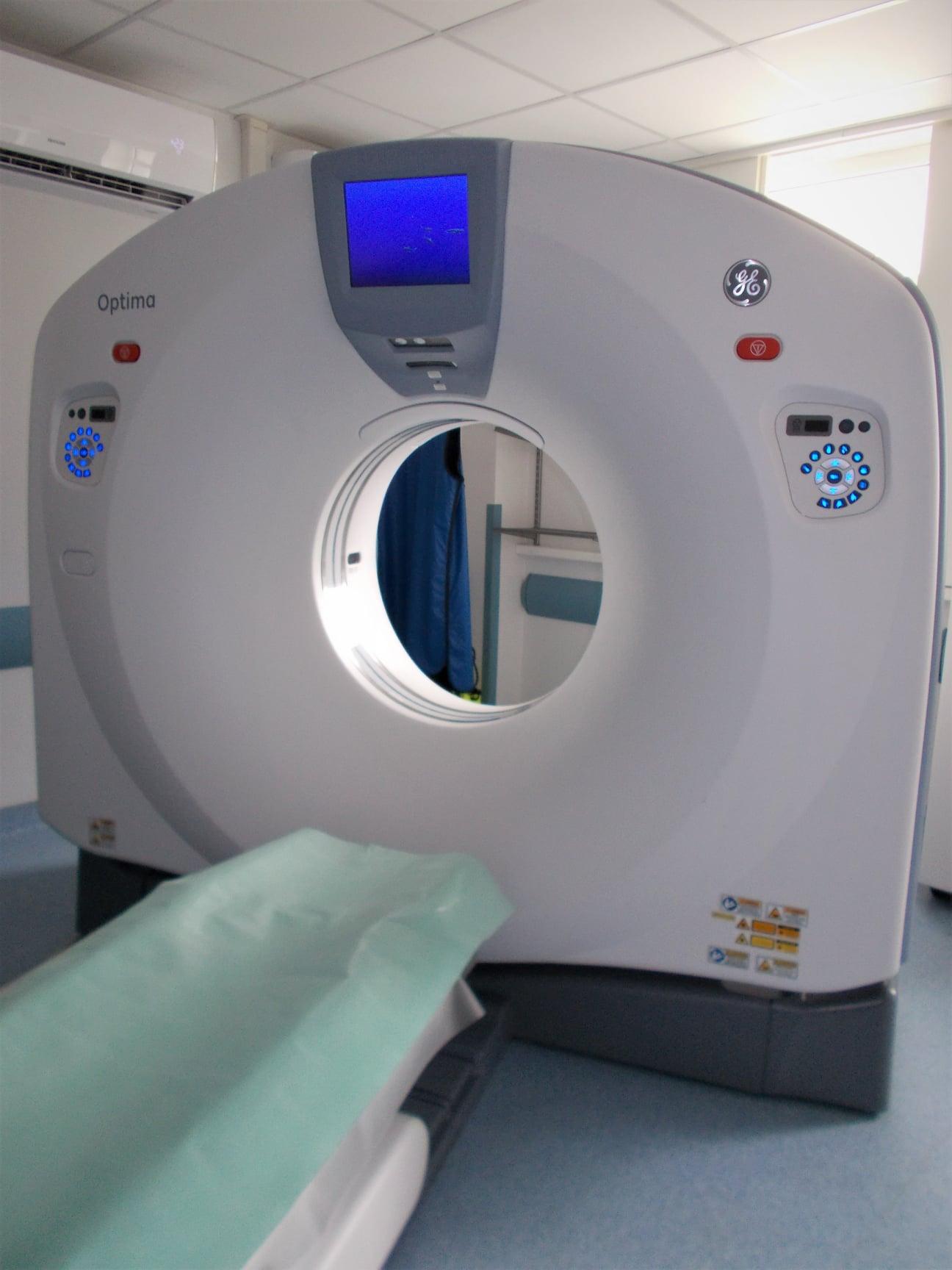 nowy tomograf w szpitalu miejskim