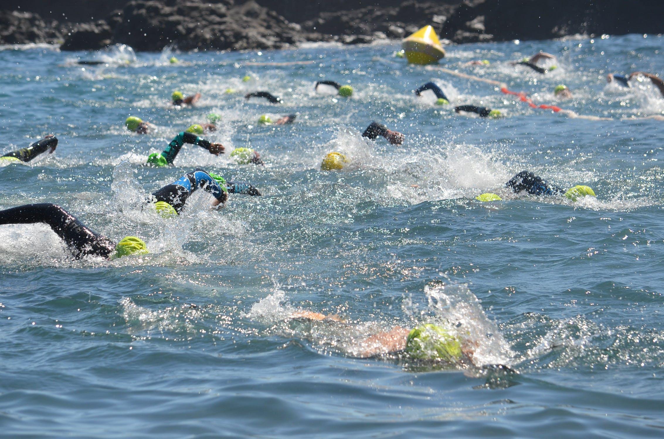triathloniści
